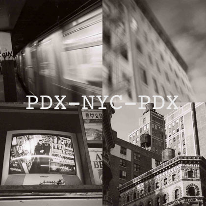 PDX-NYC-PDX album cover